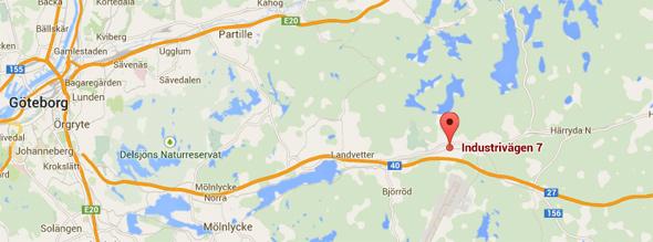 Ny adress i Göteborg