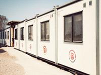 Bodar, vagnar, containers
