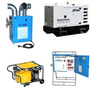 Kraft-, värme- och ventilation