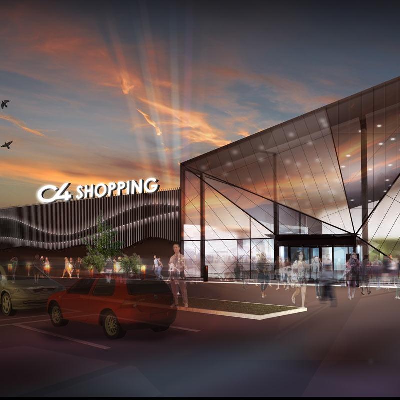 Referensprojekt C4 Shopping